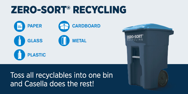 Zero-Sort Recycling Service